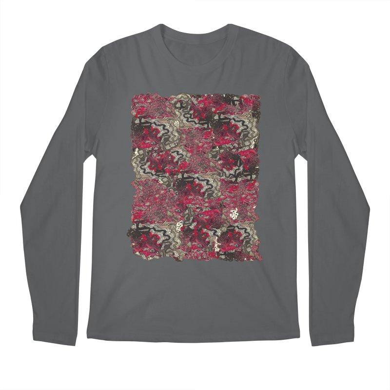 Tangled Men's Longsleeve T-Shirt by MCGILSKY DESIGN SHOP