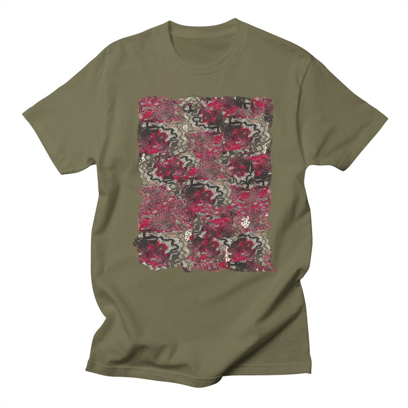 Tangled Men's T-Shirt by MCGILSKY DESIGN SHOP