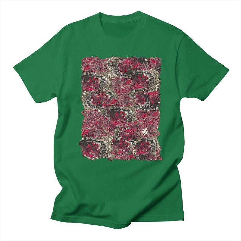 Tangled Men's T-Shirt by MCGILSKY DESIGN SHOP
