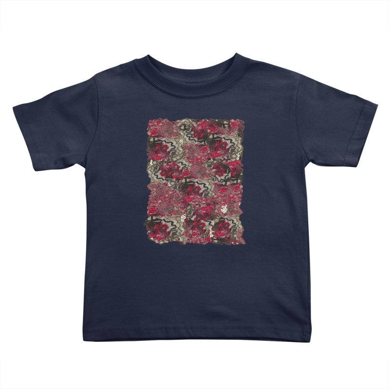 Tangled Kids Toddler T-Shirt by MCGILSKY DESIGN SHOP