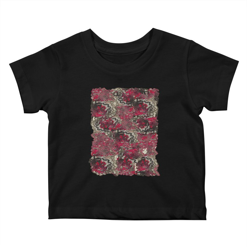 Tangled Kids Baby T-Shirt by MCGILSKY DESIGN SHOP