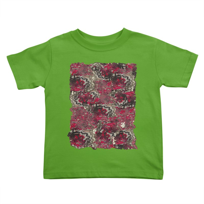 Tangled Kids Toddler T-Shirt by MCGILSKY DESIGN SHOP