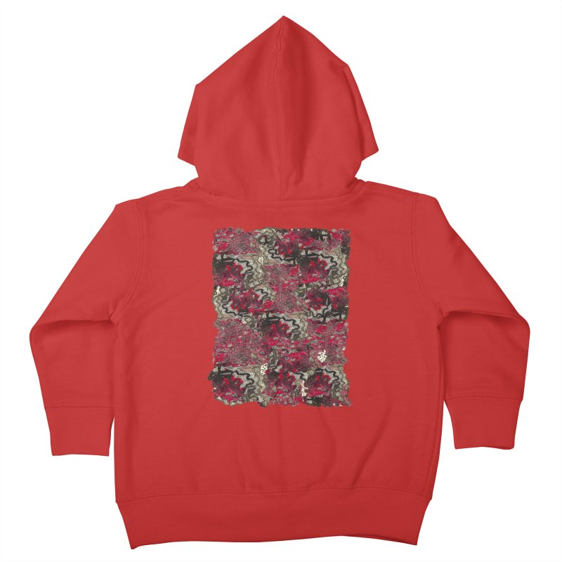Tangled Kids Toddler Zip-Up Hoody by MCGILSKY DESIGN SHOP