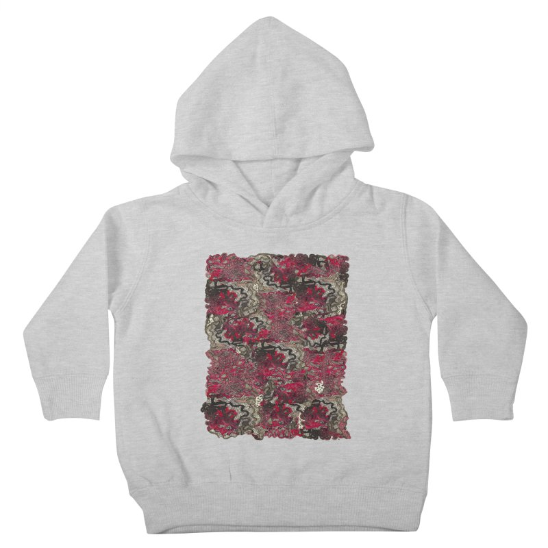 Tangled Kids Toddler Pullover Hoody by MCGILSKY DESIGN SHOP