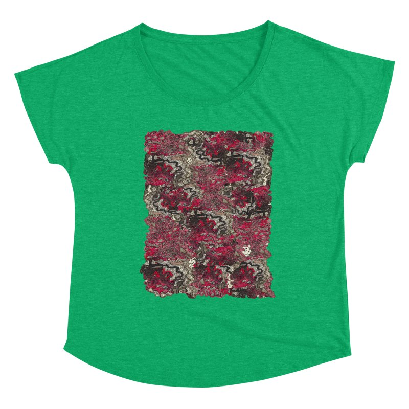 Tangled Women's Scoop Neck by MCGILSKY DESIGN SHOP