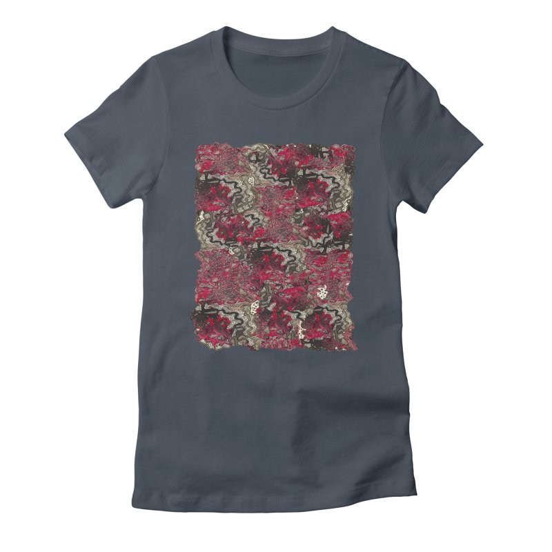 Tangled Women's T-Shirt by MCGILSKY DESIGN SHOP