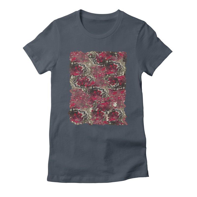 Tangled Women's T-Shirt by MCGILSKY DESIGN SHOP