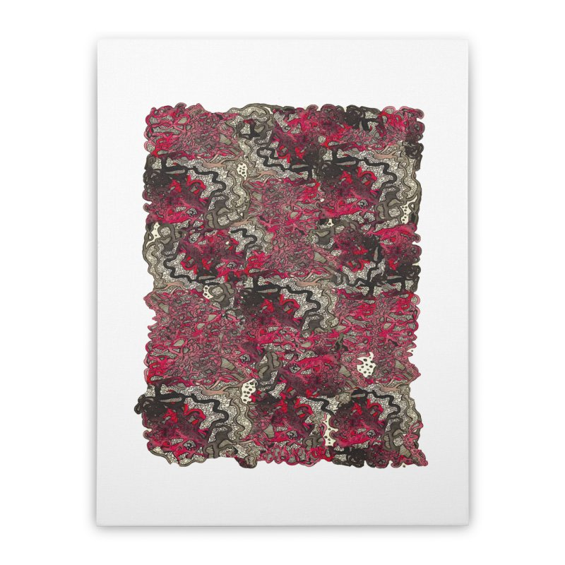 Tangled Home Stretched Canvas by MCGILSKY DESIGN SHOP