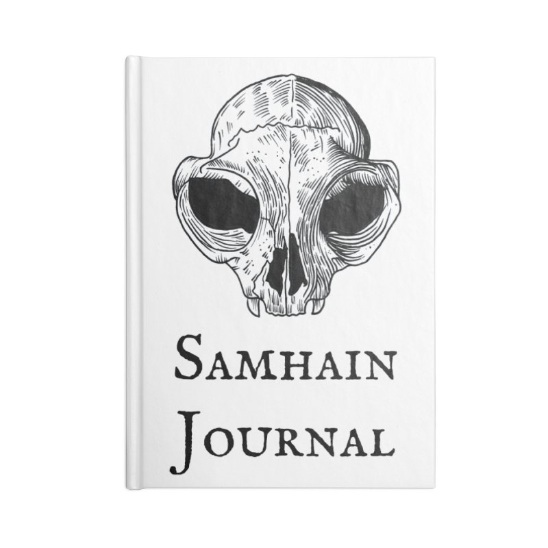 Samhain Book of Shadows Journal Accessories Notebook by Meagan Angus, Witch