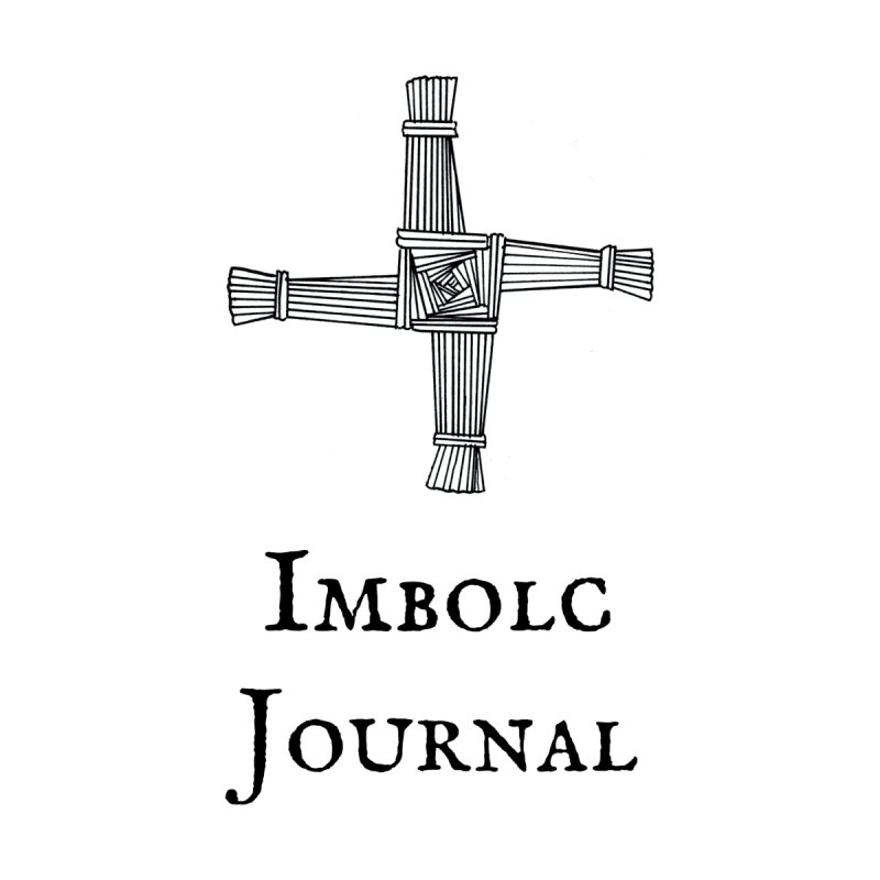 Imbolc Book of Shadows Journal Accessories Notebook by Meagan Angus, Witch