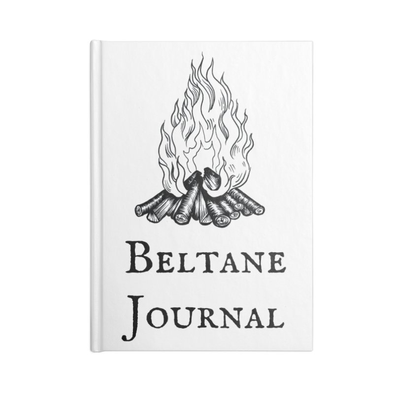 Beltane Book of Shadows Journal Accessories Notebook by Meagan Angus, Witch