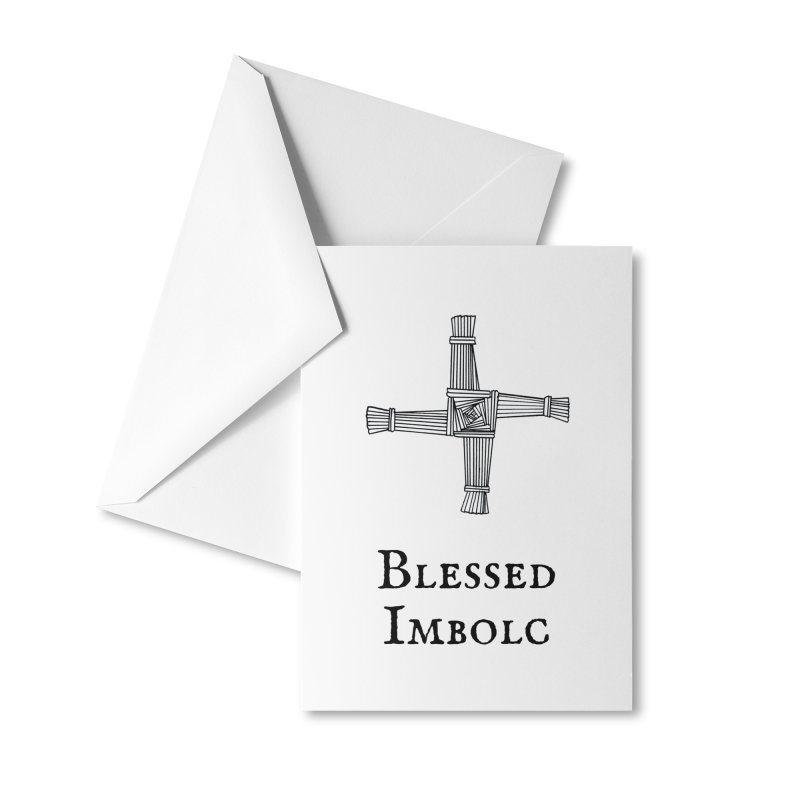 Imbolc Greeting Cards Accessories Greeting Card by Meagan Angus, Witch