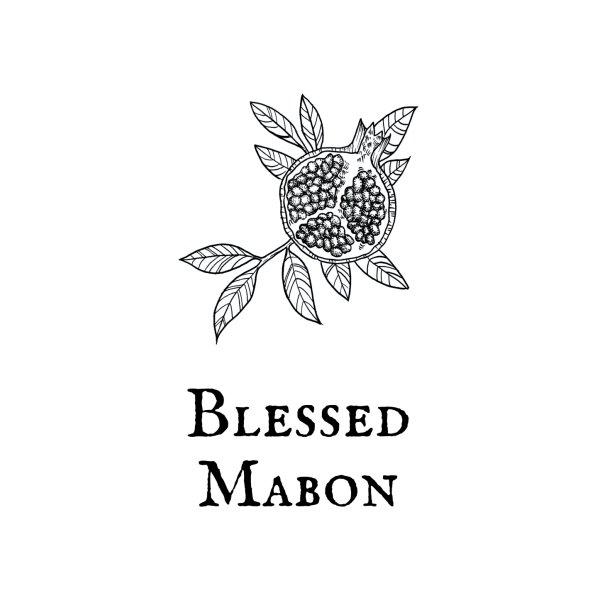 Design for Mabon Sabbat Tapestry and Altar Cloth