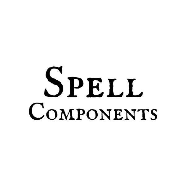 Design for Spell Components Stash Bag