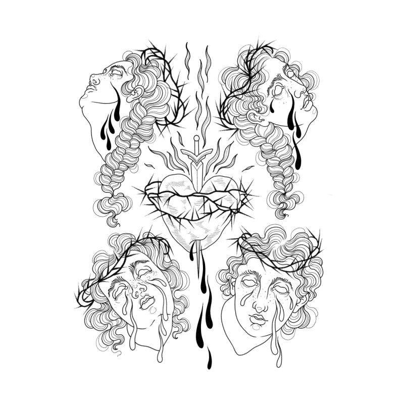 Baroque Babes Flash Sheet Men's T-Shirt by Meagan Blackwood's Artist Shop