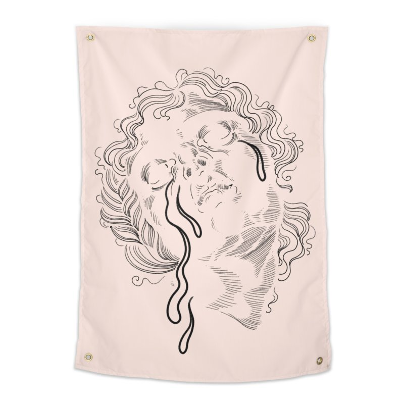 Cry Baby Home Tapestry by Meagan Blackwood's Artist Shop