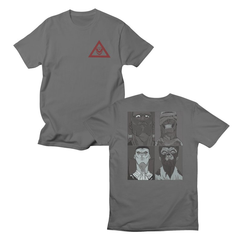 the big 4 Men's T-Shirt by MeanMonkey