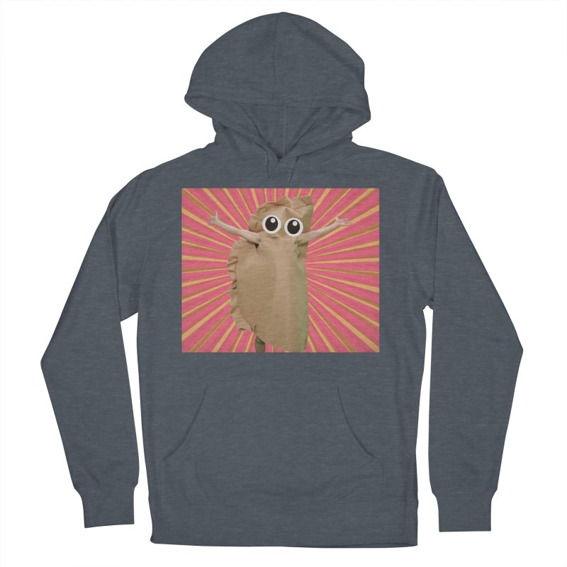 Pierogi Power Women's French Terry Pullover Hoody by Mee And The Band