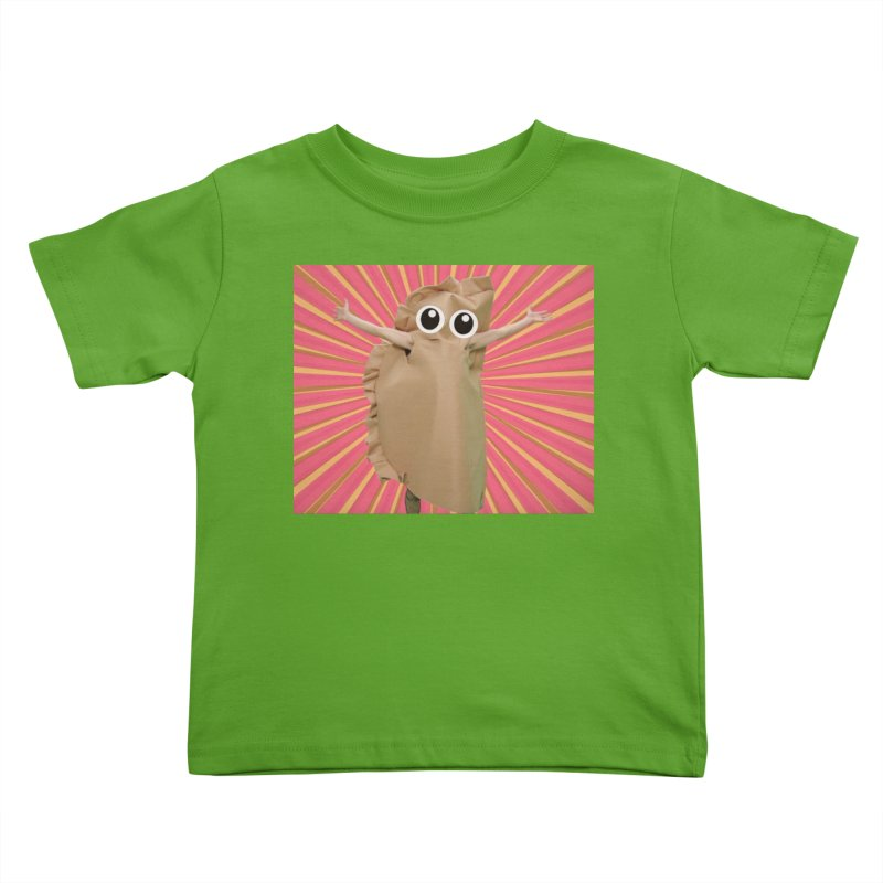 Pierogi Power Kids Toddler T-Shirt by Mee And The Band