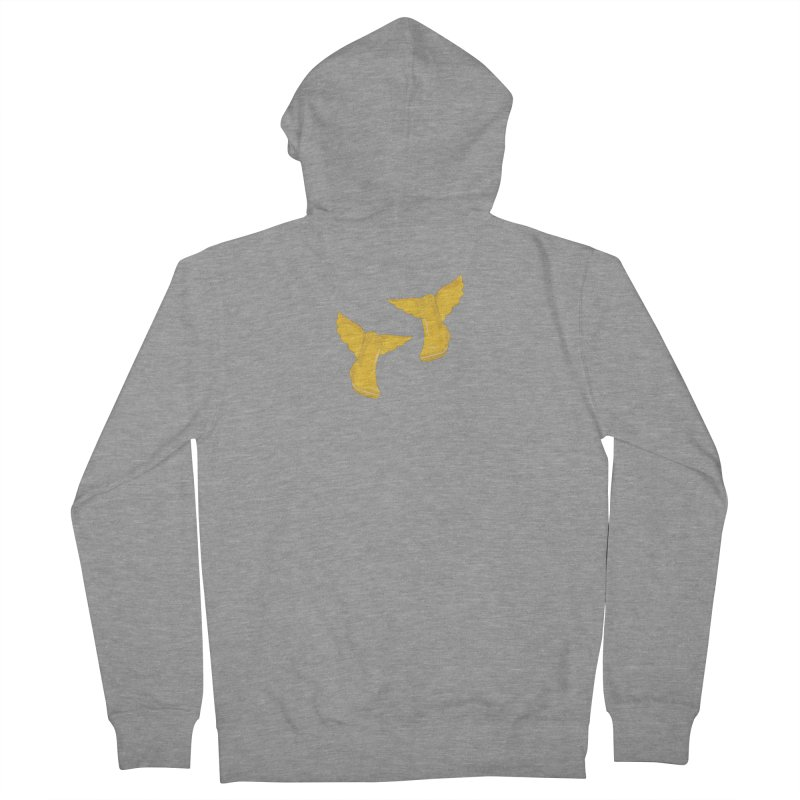 Wellyboots with Wings x 2 Women's French Terry Zip-Up Hoody by Mee And The Band
