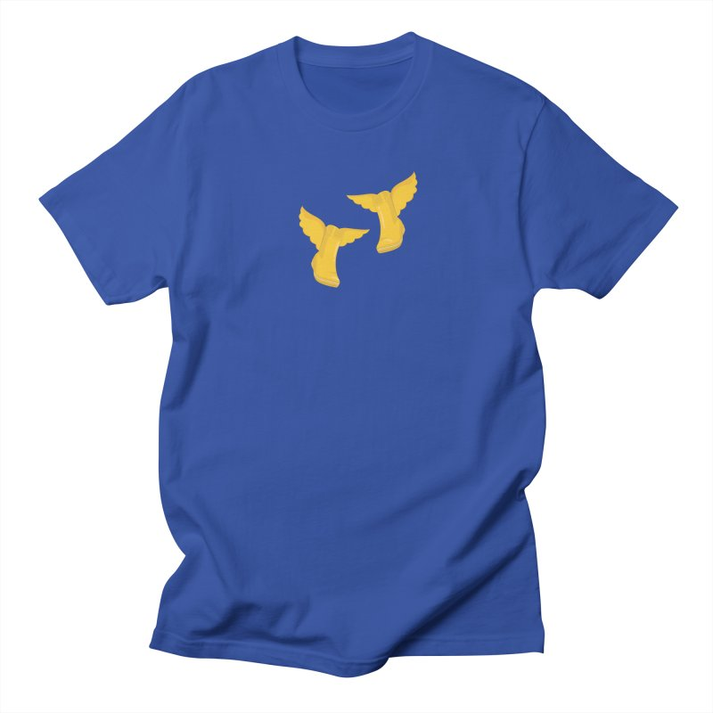 Wellyboots with Wings x 2 Women's Regular Unisex T-Shirt by Mee And The Band