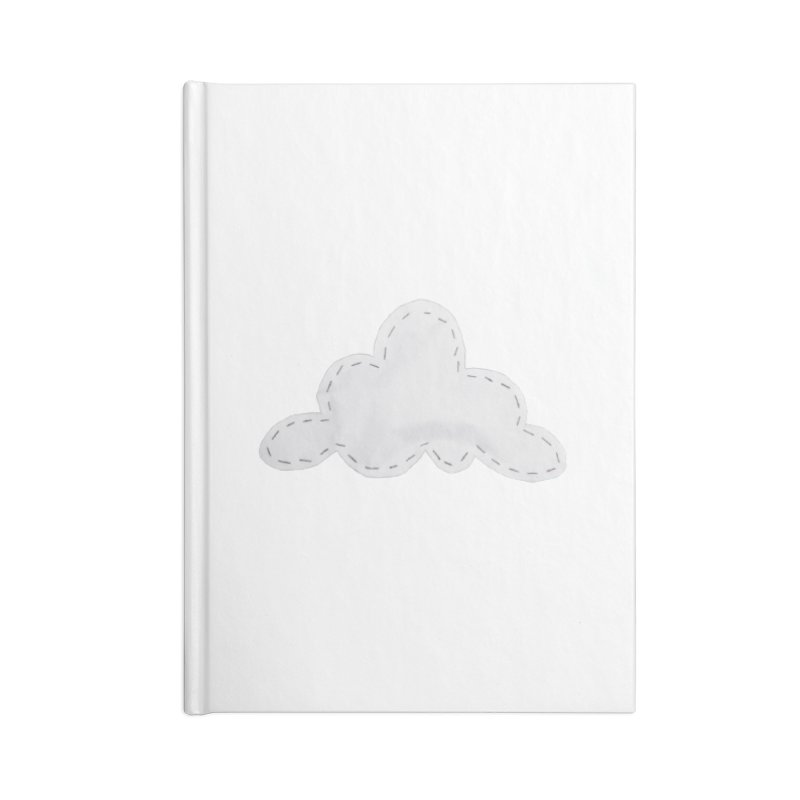 Cloudy Accessories Blank Journal Notebook by Mee And The Band