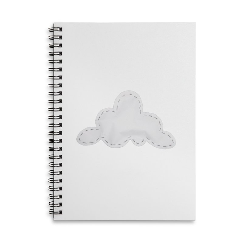 Cloudy Accessories Lined Spiral Notebook by Mee And The Band