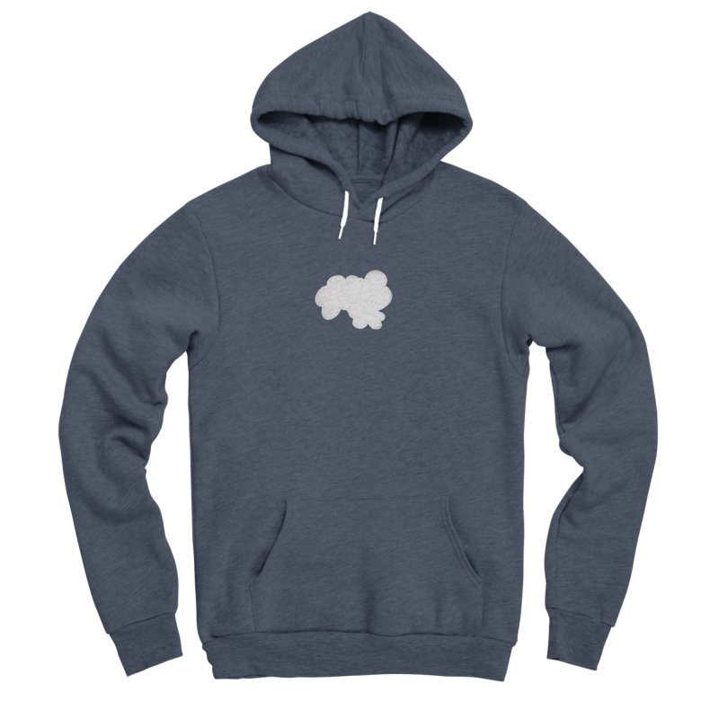 Clouds Men's Sponge Fleece Pullover Hoody by Mee And The Band