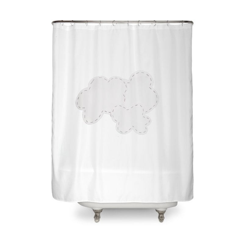 Clouds Home Shower Curtain by Mee And The Band