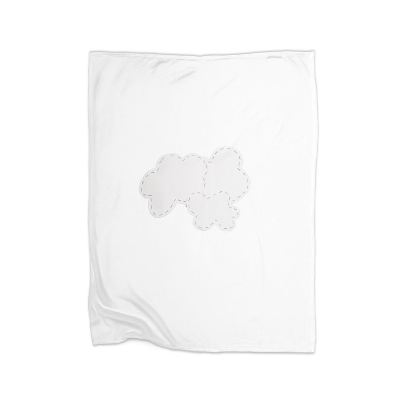 Clouds Home Fleece Blanket Blanket by Mee And The Band