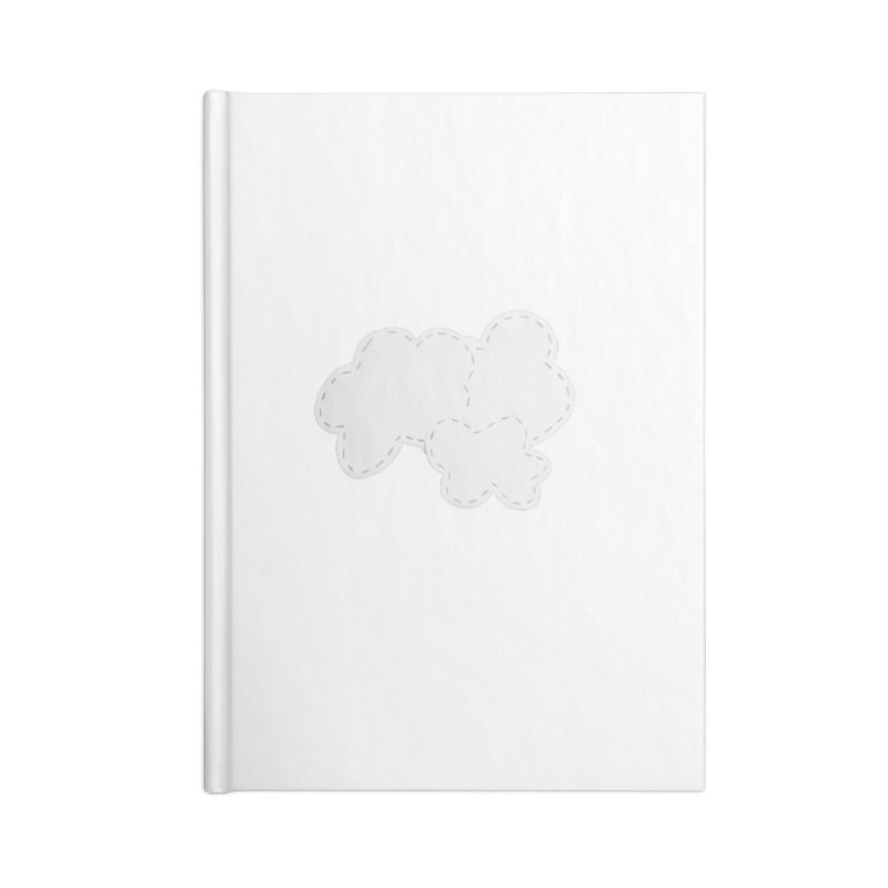 Clouds Accessories Blank Journal Notebook by Mee And The Band