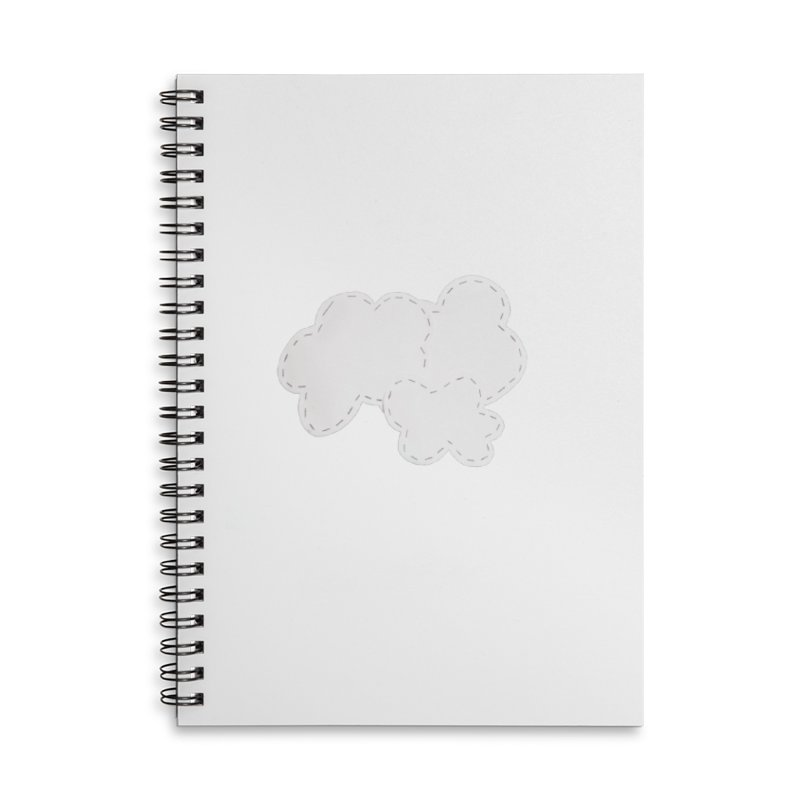 Clouds Accessories Lined Spiral Notebook by Mee And The Band