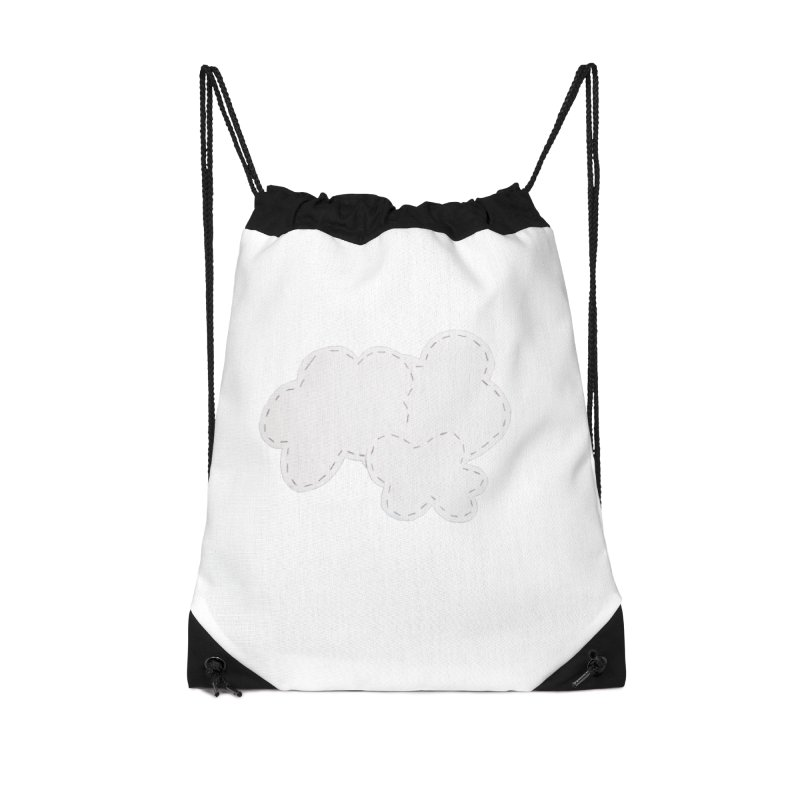 Clouds Accessories Drawstring Bag Bag by Mee And The Band