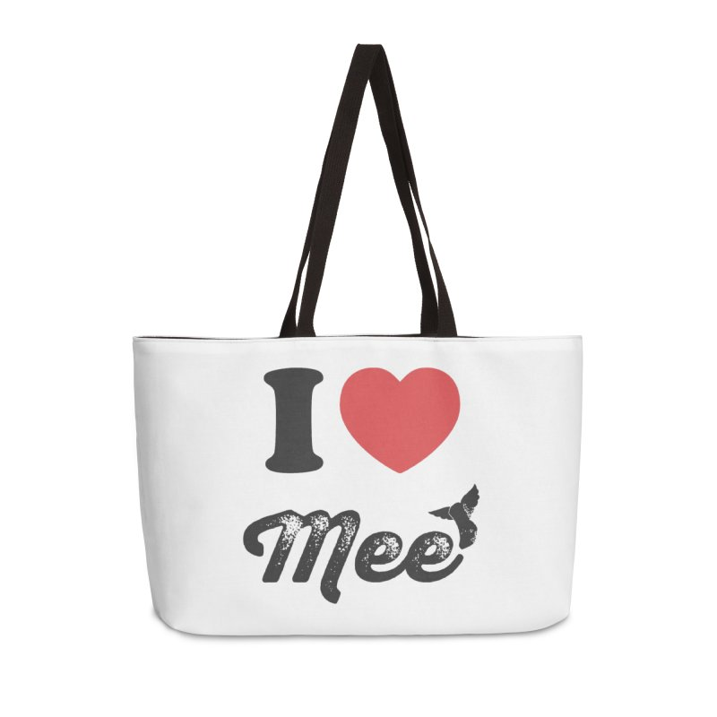 I love Mee Accessories Weekender Bag Bag by Mee And The Band