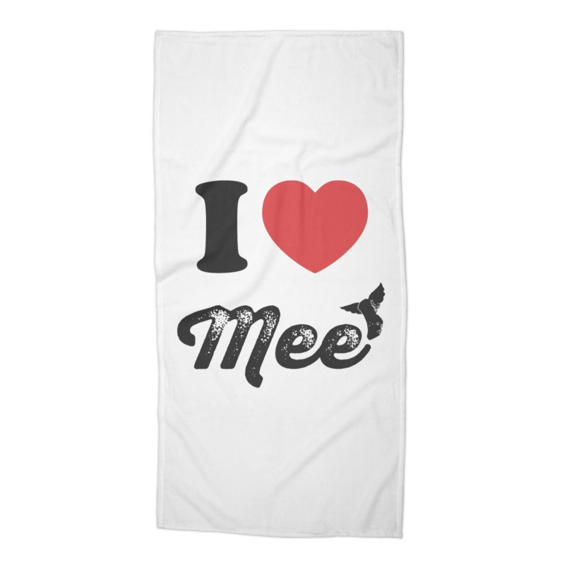 I love Mee Accessories Beach Towel by Mee And The Band