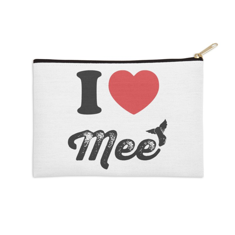I love Mee Accessories Zip Pouch by Mee And The Band