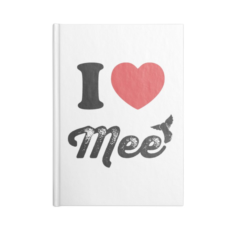 I love Mee Accessories Lined Journal Notebook by Mee And The Band