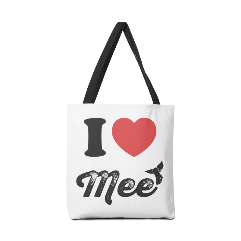 I love Mee Accessories Tote Bag Bag by Mee And The Band
