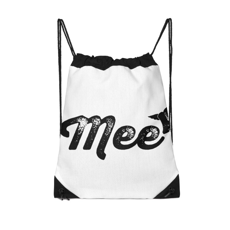 Mee Accessories Drawstring Bag Bag by Mee And The Band
