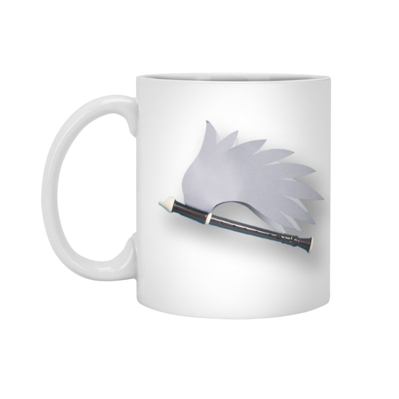 Flying Recorder Accessories Standard Mug by Mee And The Band