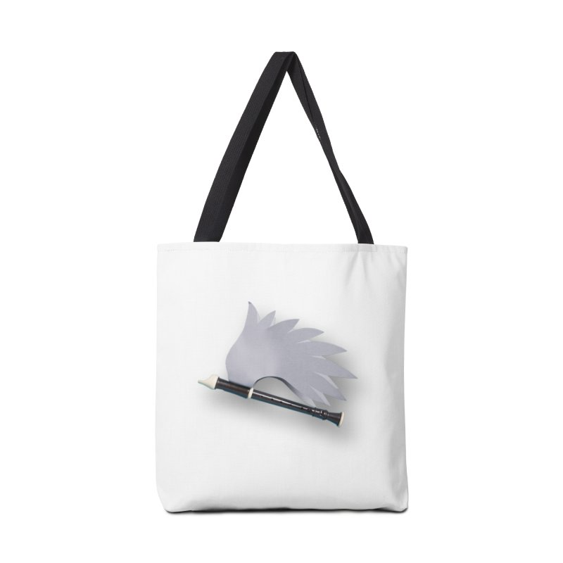 Flying Recorder Accessories Tote Bag Bag by Mee And The Band