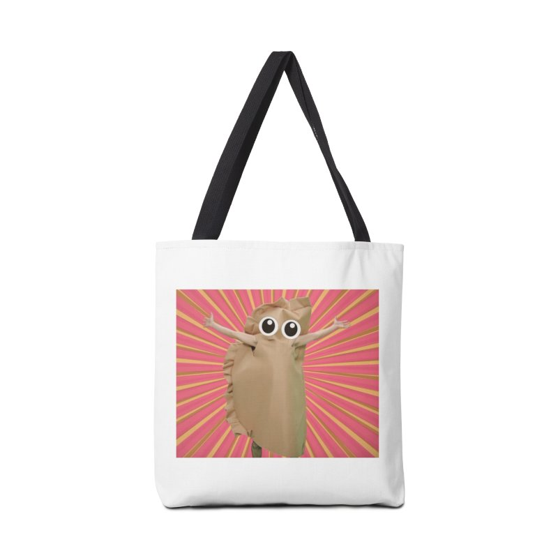 Pan Pierog from EAT PIEROGI Accessories Tote Bag Bag by Mee And The Band