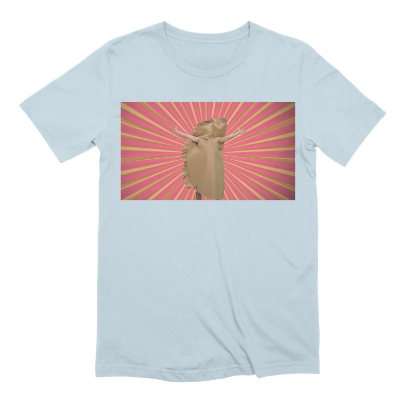 Pan Pierog - EAT PIEROGI Men's Extra Soft T-Shirt by Mee And The Band