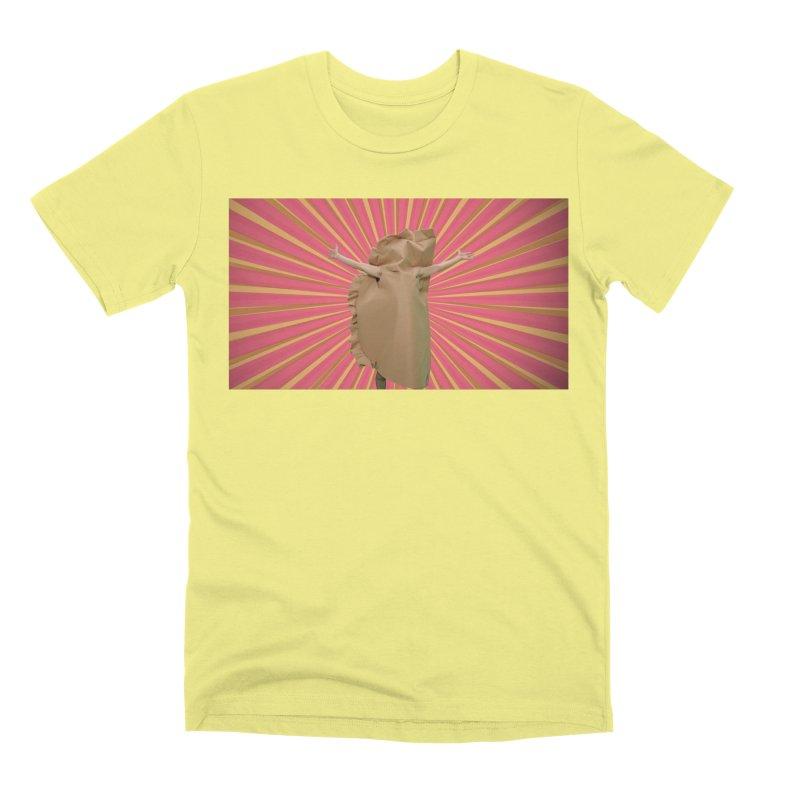 Pan Pierog - EAT PIEROGI Men's Premium T-Shirt by Mee And The Band