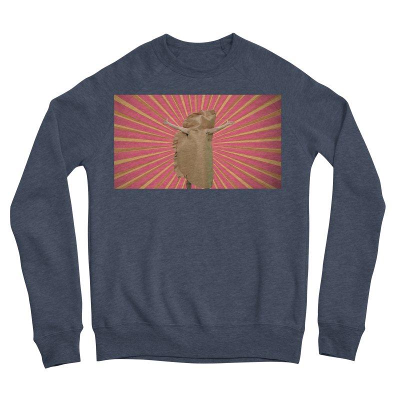 Pan Pierog - EAT PIEROGI Men's Sponge Fleece Sweatshirt by Mee And The Band