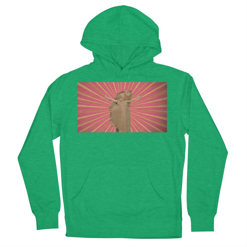 Pan Pierog - EAT PIEROGI Men's French Terry Pullover Hoody by Mee And The Band