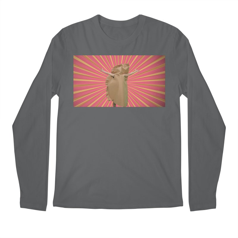 Pan Pierog - EAT PIEROGI Men's Regular Longsleeve T-Shirt by Mee And The Band