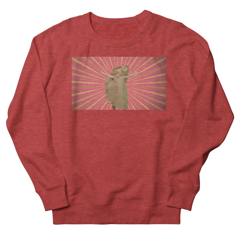 Pan Pierog - EAT PIEROGI Men's French Terry Sweatshirt by Mee And The Band