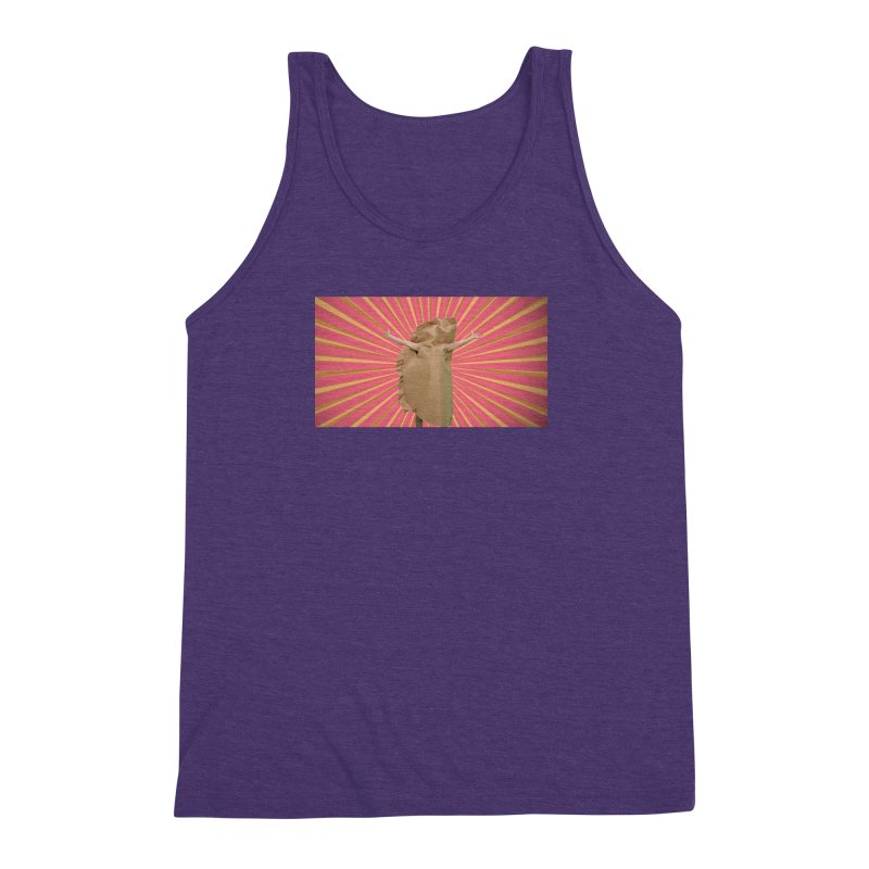 Pan Pierog - EAT PIEROGI Men's Triblend Tank by Mee And The Band