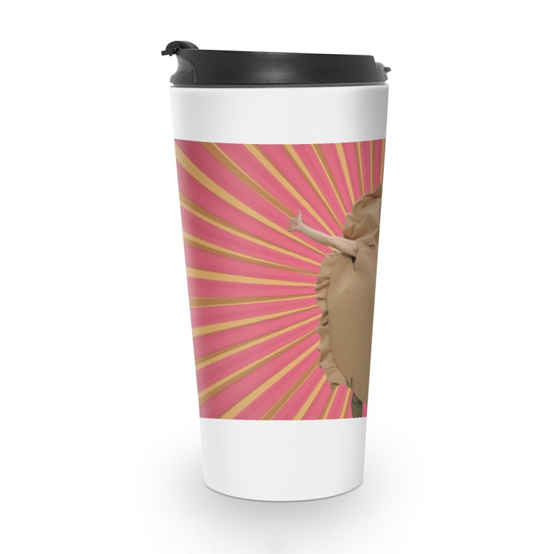 Pan Pierog - EAT PIEROGI Accessories Travel Mug by Mee And The Band